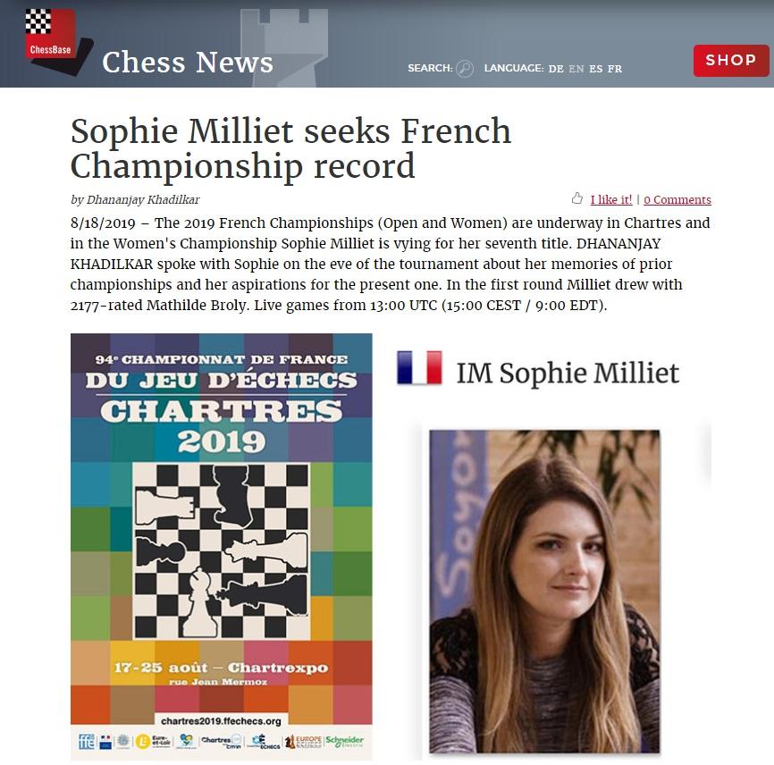 Déjà 918 joueurs à Chartres : la barre des 1000 participants