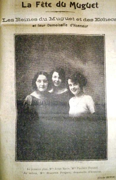 La partie d'échecs vivants de Compiègne le 20 mai 1923
