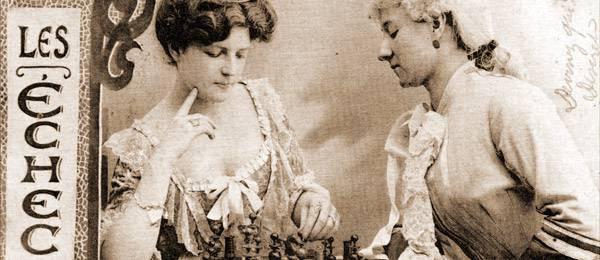 Sacrifice de Dame pour la Saint-Valentin au tournoi de Paris 1925
